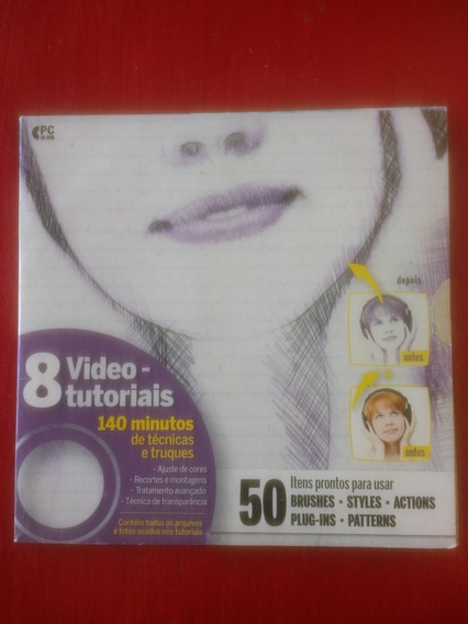 Dvd Photoshoper #3 8 Vídeos Tutoriais Digerati Editora