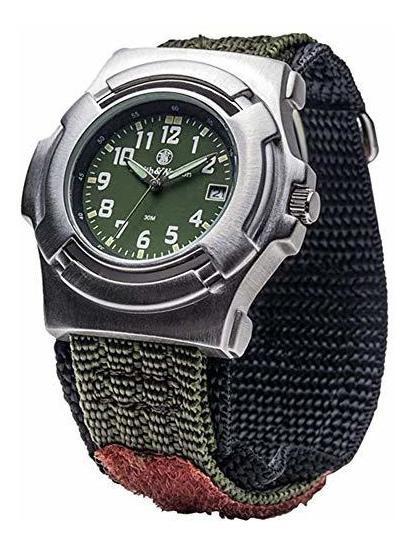 Smith & Wesson Sww-11-od Lawman Reloj De Hombre Con Correa D