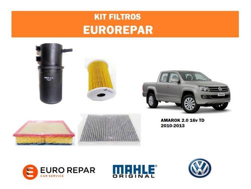 Kit Filtros Para Vw Amarok 2.0 Td 163cv