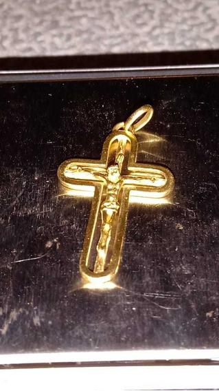 Vendo Lindo Crucifixo De Ouro 18k 3.2g Lindoo
