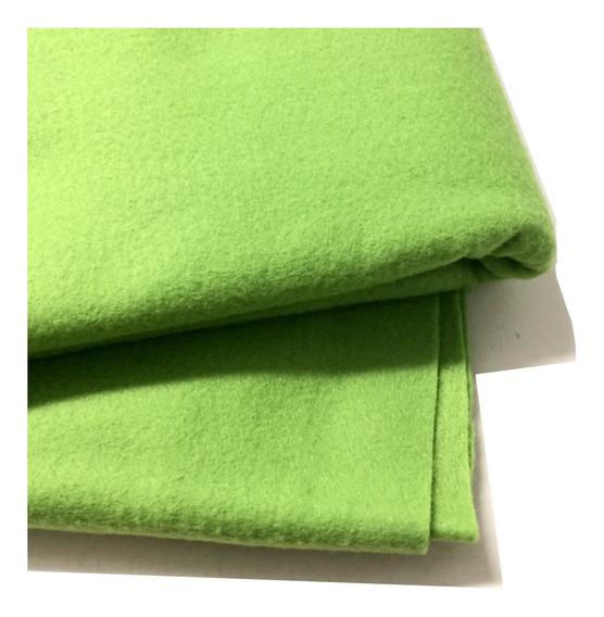 Feltro Verde Para Artesanato 1,00x1,40 Metro Promoção