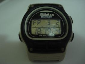 Relógio Timex Iron Man Triathlon, Revisado, Luz Não Funciona