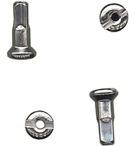 Niple Latão De Raio Bike 12mmx2.5mm Para Raio Grosso(36 Un:)