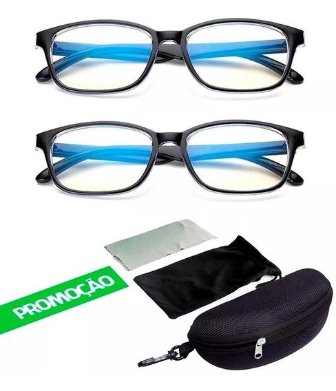 2 Óculos Bloquear Radiação Computador, Celular, Tv Promoção