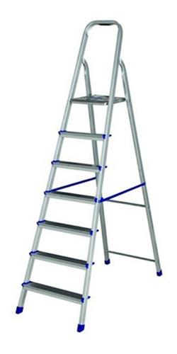 Escalera Aluminio Mor 5105 - 7 Escalones