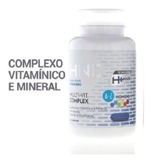 Mult-vit Complex 60 Cápsulas A-z Homens Hnd Qualidade 100%