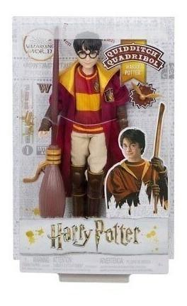 Boneco Harry Potter Quidditch Quadribol Figura De Ação