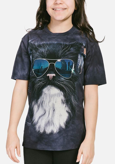 Playera 4d - Unisex Infantiles 15-3781 Cool Cat