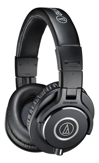 Fone de ouvido Audio-Technica ATH-M40x preto