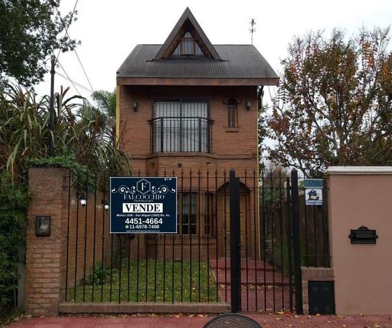Casa Chalet En Venta 4 Ambientes Quincho Y Piscina Muñiz
