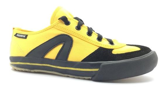 Tênis Rainha Vl 2500 Vôlei Futsal Capoeira Amarelo