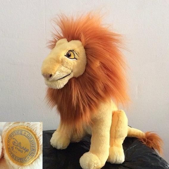 Pelucia Mufasa O Rei Leão Original Disney 32cm Novo