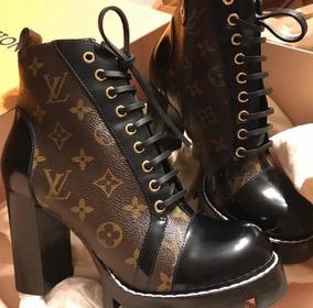 d10eb4fdf5f0 Louis Vuitton Replica Identica Feminino Ankle Boots - Botas no ...