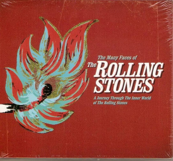 Box Com 3 Cds Rolling Stones - The Many Faces Of