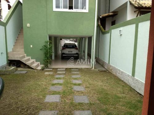 Imagem 1 de 27 de Casa À Venda, 230 M² Por R$ 630.000,00 - Maria Paula - Niterói/rj - Ca0679