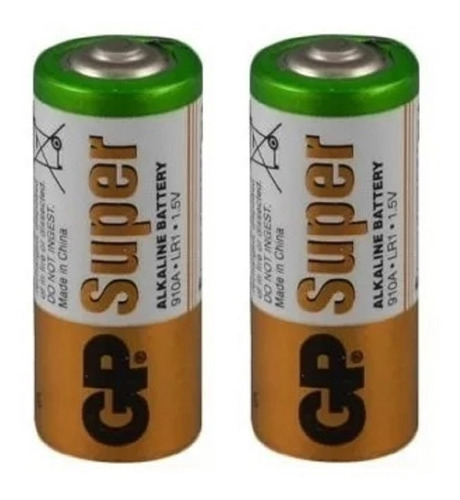 2 Bateria Pila Kit Gp Alcalina N Lr1 Am5 Mn9100 910a 1.5v