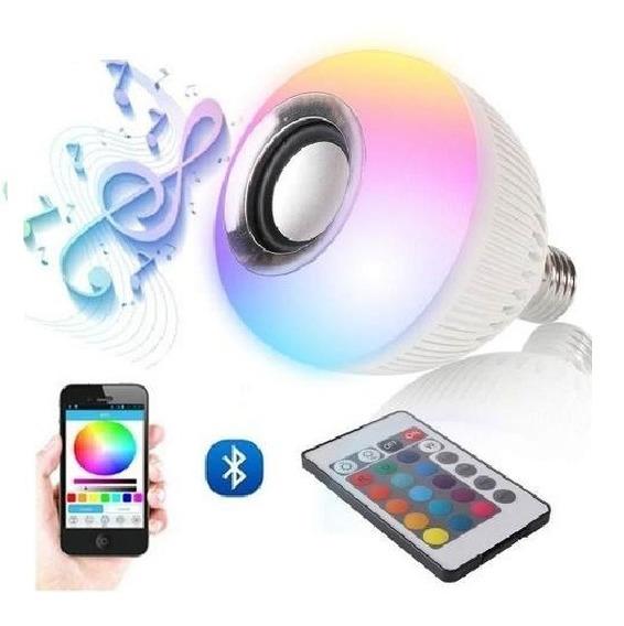 Lâmpada Alegra Festas Bluetooth Luzes Multicoloridas Ofertaço Imperdível Oferta Especial Só Hoje Não Perca