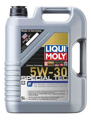 Aceite De Motor Liqui Moly 5 Litros 5w30 Sintetico Special T