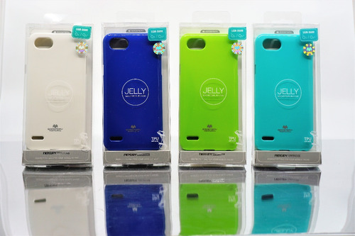 Funda LG Q6( Q6 Plus) Mercury Goospery Jelly Case