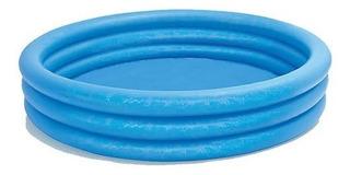 Piscina Alberca Circular De 3 Aros Inflable 1.47 M Intex