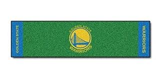 Fanmats Nba Golden State Warriors Nylon Face Putting Green M