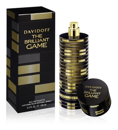 Perfume The Brilliant Game Davidoff Para Caballero 100 Ml