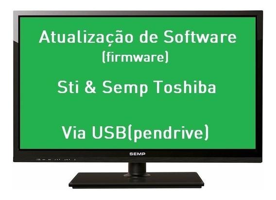 Atualização Software Tv Semp Toshiba Dl3277i(a)