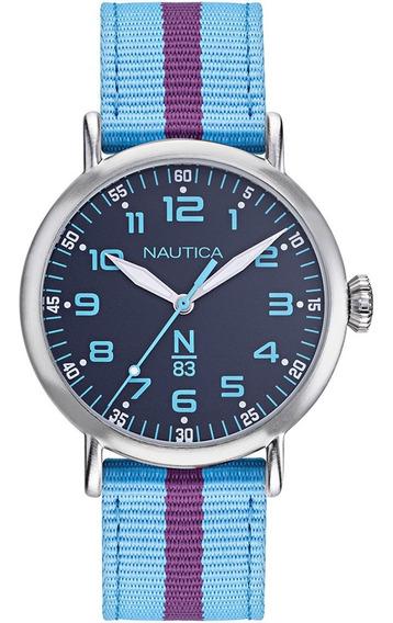 Reloj Nautica N83 Caballero Modelo: Napwlf924 Envio Gratis