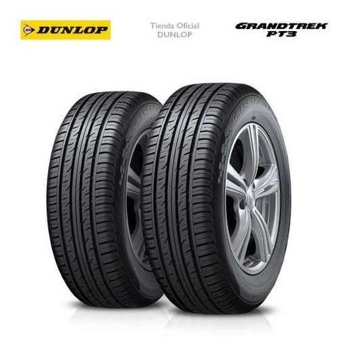Kit X2 225/55 R18 Dunlop Grandtrek Pt3 + Tienda Oficial