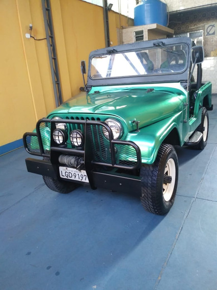 Jeep Ford Rural Willys, 1976, 4 X 4, 6 Cil, Gasolina, Verde
