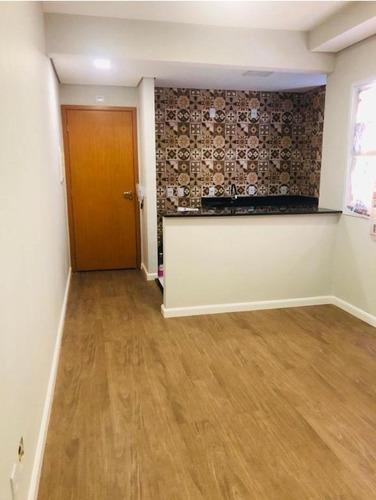 Apartamento Com 2 Dormitórios À Venda, 50 M² - Parque Novo Oratório - Santo André/sp - Ap63644