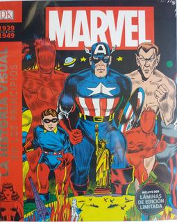 Marvel La Historia Visual En Los Principios 1939-1949(nuevo)