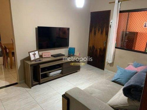 Imagem 1 de 18 de Sobrado Com 3 Dormitórios À Venda, 219 M² Por R$ 447.000,00 - Jardim Santa Cristina - Santo André/sp - So1599