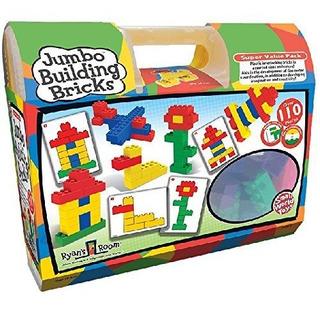 Small World Toys Ryans Room Educational Jumbo Building Bric