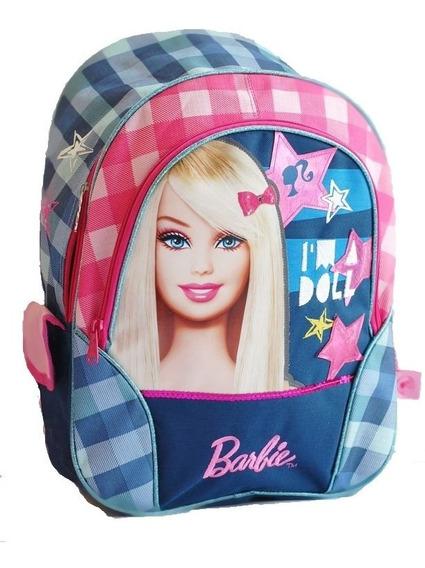 Mochila De Espalda Barbie Con Licencia Original 16 Cuadro