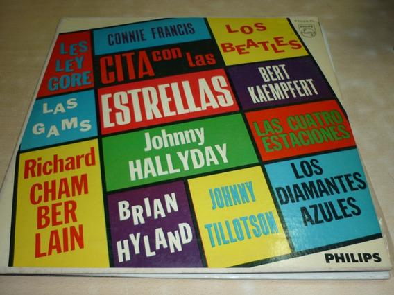 Cita Con Las Estrellas Los Beatles Hallyday Como Nuevo Vinil