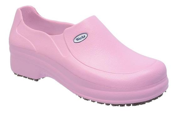Sapato Profissional Em Eva Soft Works Antiderrapante Bb65