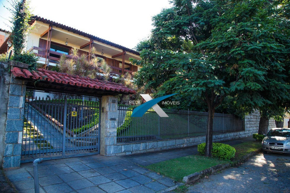 Casa Estilo Colonial, 7 Quartos, 2.000m², A Venda Na Pampulha - Ca0613