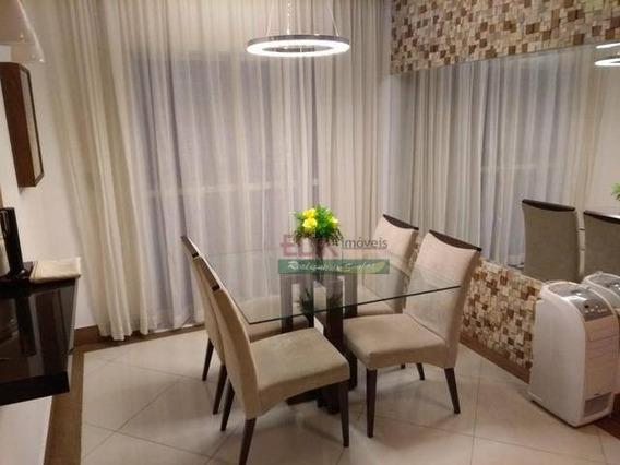 Apartamento Com 3 Dormitórios À Venda, 79 M² Por R$ 365.000 - Vila Antônio Augusto Luiz - Caçapava/sp - Ap3248
