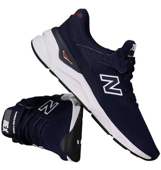 Tênis New Balance X90 Azul Marinho Masculino Msx90crf