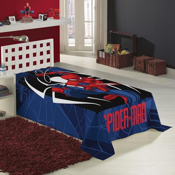 Cobertor Manta Microfibra Homem Aranha Spider Man Lepper
