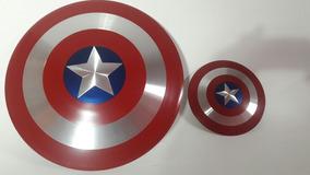 Réplica Do Escudo Do Capitão América + Brinde 30cm