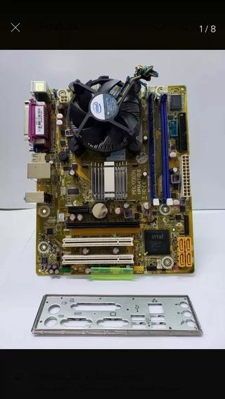 Kit Placa Mãeddr3 + Processador Core 2 Quad Q8400 + 2gb Ram