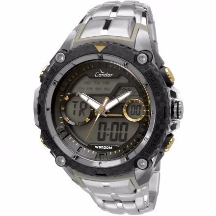 Relógio Condor Masc Coad1146aa/3y Prateado Lançamento