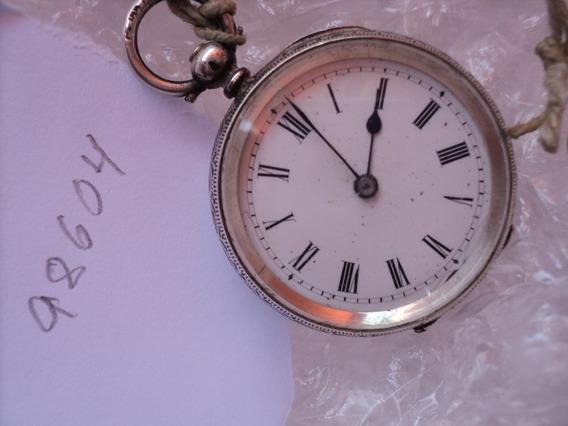 Relógio Em Prata De Chavinha Cylidre Vacheron Geneve