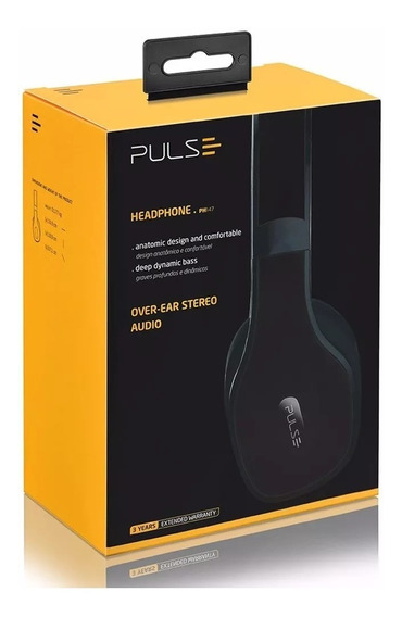 Headphone - Skype - Voz - Conferência Over-ear Pulse