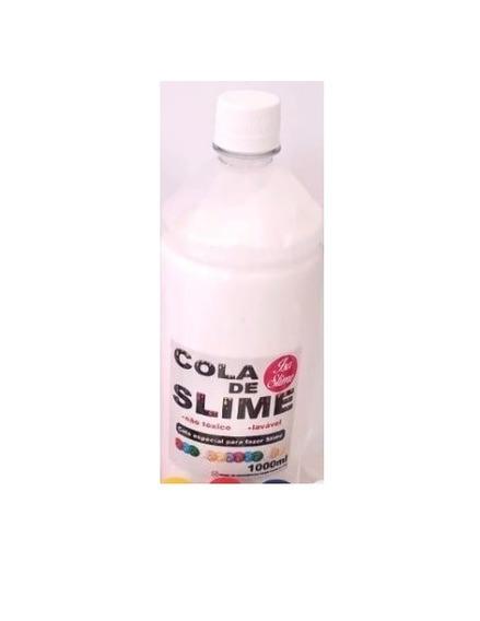 Cola Branca 1000g 1kg Maxi Cola Slime Brincar