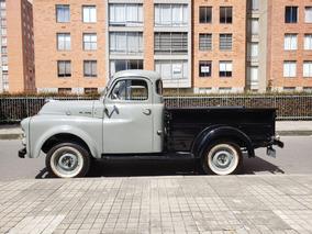 Desoto (dodge/fargo) 1951 Pickup Gris/negro Original