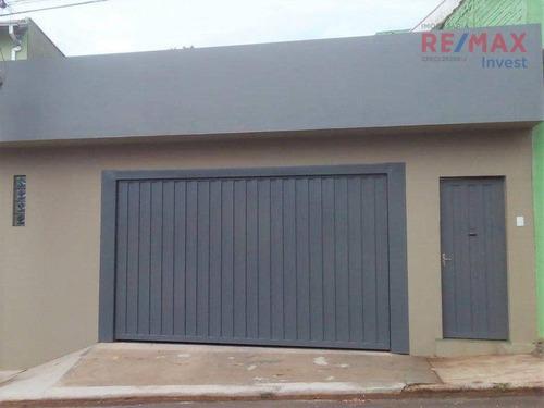 Imagem 1 de 24 de Casa Com 2 Dormitórios À Venda, 178 M² Por R$ 340.000,00 - Vila Maria - Botucatu/sp - Ca1146