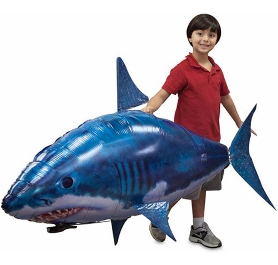 Tubarão Voador Com Controle Remoto